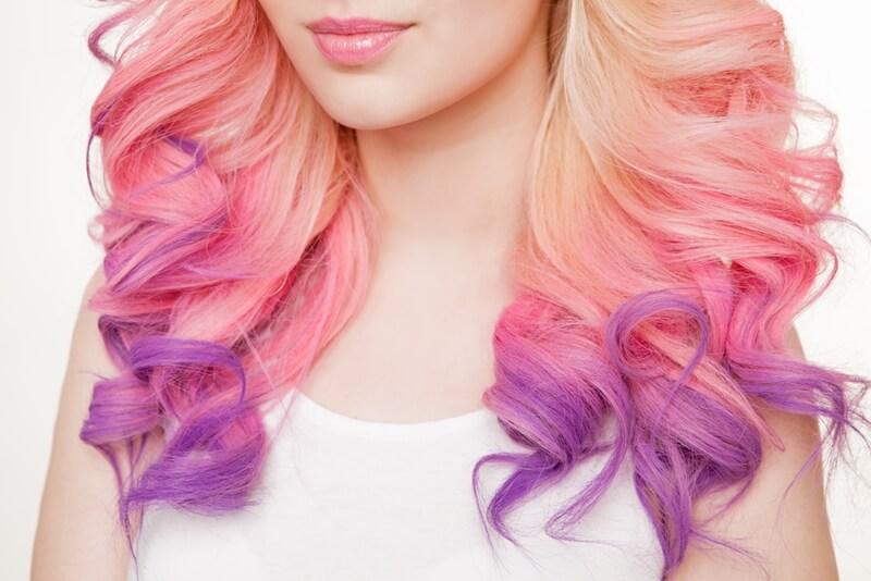 髪の毛の色落ち