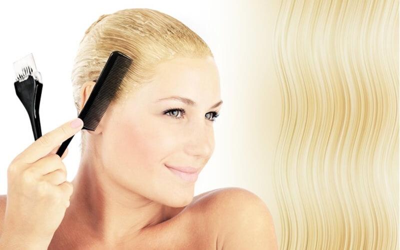 髪の毛の脱色の簡単なやり方