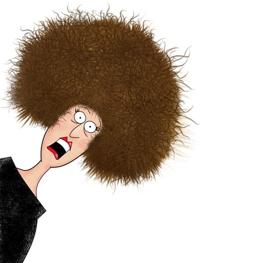 髪の量が多い原因