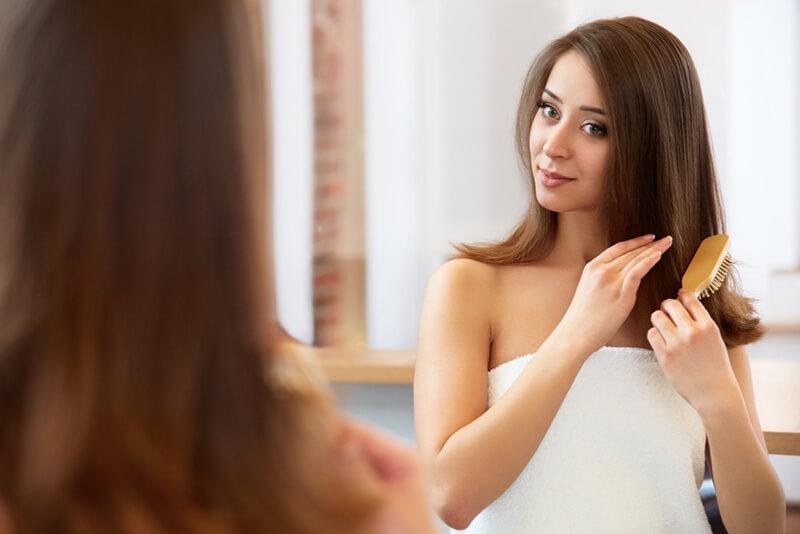 髪の毛を太くする方法