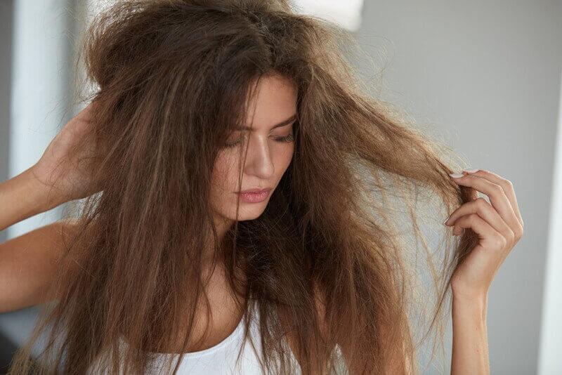 髪の乾燥原因